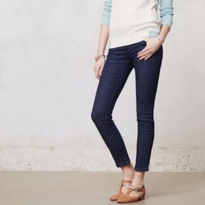 Anthro. Pilcro & the Letterpress Houndstooth Jeans